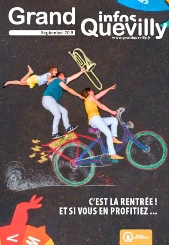 Couverture du Grand Quevilly infos de septembre 2019