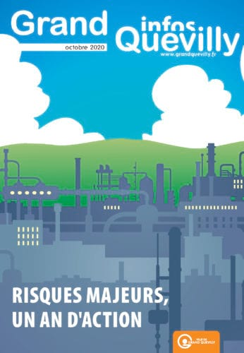 Couverture du Grand Quevilly infos de d'octobre 2020