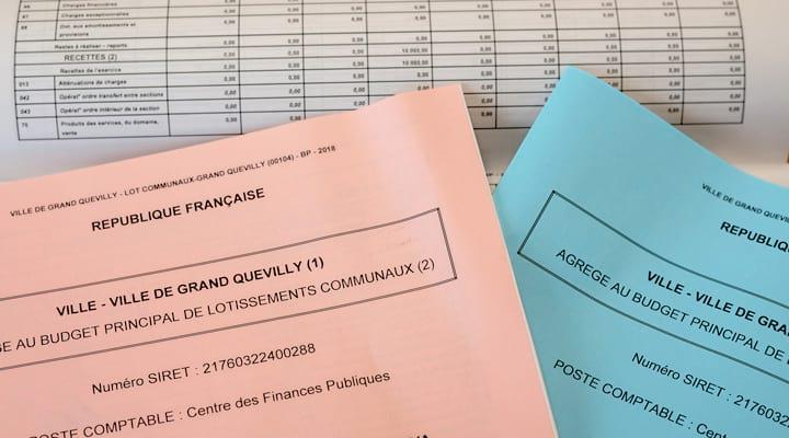 Les différents livrets du budget municipal