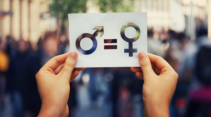 Un homme est égal à une femme