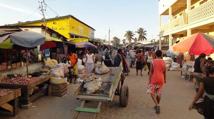 Le marché de Morondava