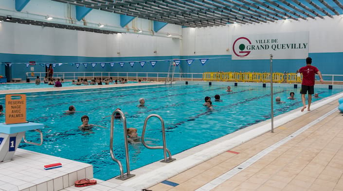 La piscine de Grand Quevilly