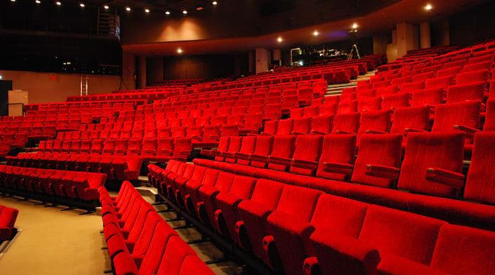 La salle de spectacle du théâtre Charles Dullin