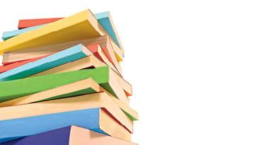 Le dessin d'une pile de livres