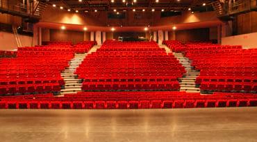 Salle du théâtre Charles Dullin