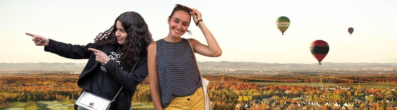 Clotilde et Sarha à Lévis