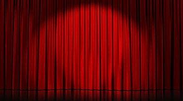 un rideau de théâtre