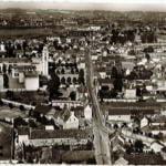 Vue aerienne ancienne du Bourg