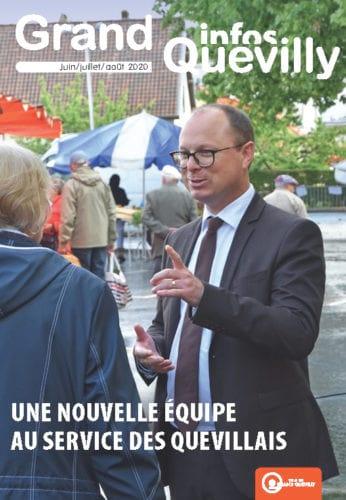 Couverture du Grand Quevilly infos d'été 2020